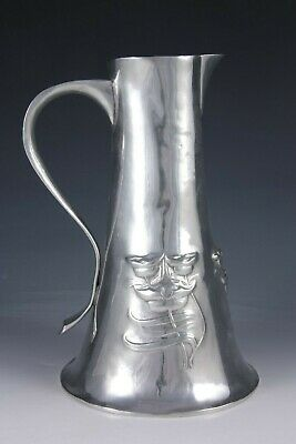 Liberty & Co Tudric pewter water or wine jug  Archibald Knox or Oliver Baker?