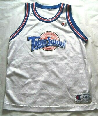 Vintage Taz Space Jam Tune Squad Champion Jersey - YOUTH Size L - Looney Tunes