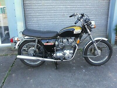 Triumph Trident T150V 1974 Running Riding , Matching Numbers  Project