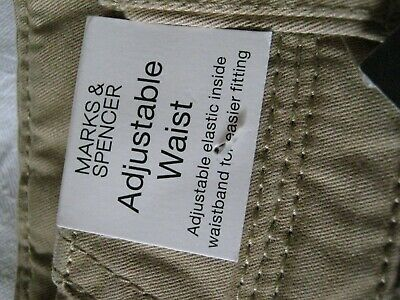 Boys Marks & Spencer M&S Chinos Trousers Age 10 Stone Nutral New With Tags