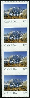 Canada sc#??? From Far and Wide 2020: Kootenay Park BC, Strip of 4 Coil, Mint-NH
