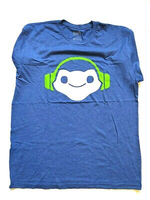 Overwatch Lucio Dripage Tee Shirt Sz Men/'s XL Blizzard ThinkGeek NWT