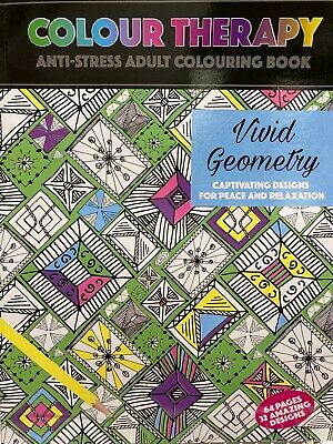 Colour Therapy Mind Relaxing Colouring Colour Books The Anti Stress Adult Colour
