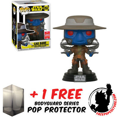 FREE POP PROTECTOR FUNKO POP VINYL STAR WARS CLONE COMMANDER CODY EXCLUSIVE