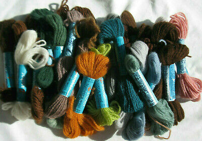 Embroidery Tapestry Wool anchor 31 skeins