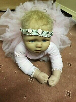 Real Life Like Doll The Little Ballerina Brianna With Certificates