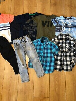 Age 4 Years Boys Clothes Bundle Next. Shirts T Shirts Chino Jeans