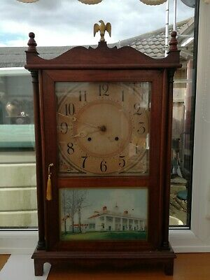 Antique american wall clocks