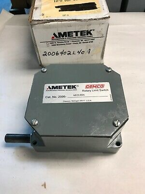 Gemco 2006-402L40A Rotary Limit Switch