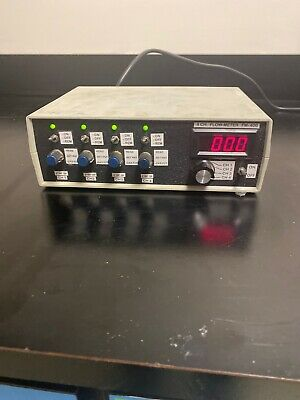 4 Channel Flow Meter Monitor Rate Measurement