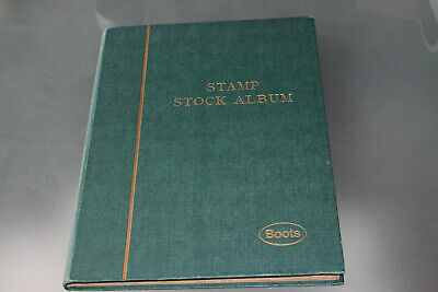 World Collection Mostly Mid Period In 16 Page Stockbook - 1000+ Stamps