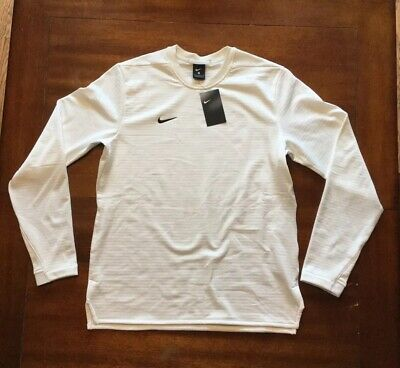 MEN/'S MEDIUM M NIKE SB x STAPLE PIGEON WHITE COTTON LONG SLEEVE T-SHIRT