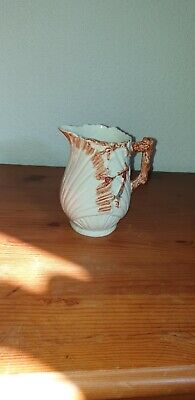 Vintage Antique Unusual Milk Jug Interesting Beautiful Stunning hand painted
