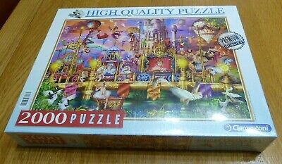 "Clementoni High Quality 2000 Piece ""The Circus"" Jigsaw Puzzle"