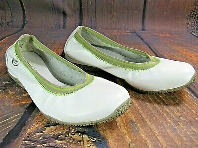 SKECHERS WOMEN'S SHOES Sneakers White Leather Flats Comfort