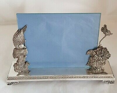 Antique Oriental Export high grade silver Photograph frame.Chinese / Japanese ?