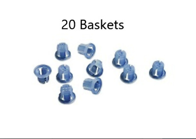 20 x Disposable Plastic Saliva Ejector Dental Basket DCI #5755 Fast shipping !