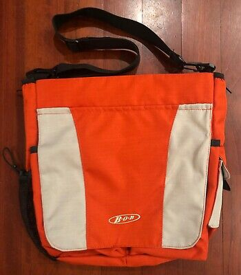 Orange Bob Stroller Diaper Bag, Messenger Style NWOT
