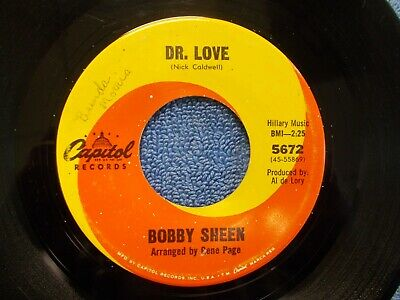 Bobby Sheen 45 Capitol 5672 E Condition Dr. Love/Sweet Sweet Love