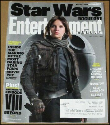12/2/2016 Entertainment Weekly Star Wars Rogue One Felicity Jones as Jyn Erso