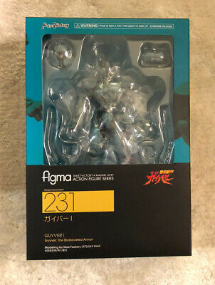 figma 231 Guyver I Guyver The Bioboosted Armor Max Factory FROM JAPAN