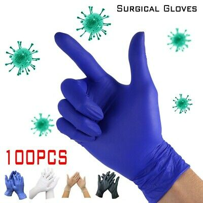 100pcs Disposable Gloves for Home Cleaning Rubber Medical Wor /Laboratory Garden