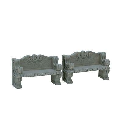 Lemax - Stone Bench (2 Pieces) (74612)