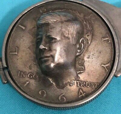 Kennedy Half Dollar Pushed Out Face