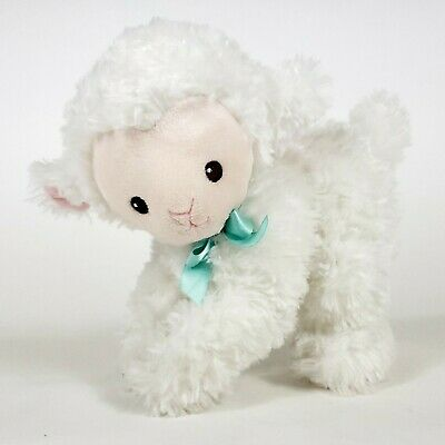 "Garanimals White LAMB 8"" Plush Baby Infant Stuffed Animal Toy Soft"