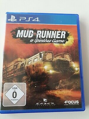 PlayStation 4 Mudrunner Spintires