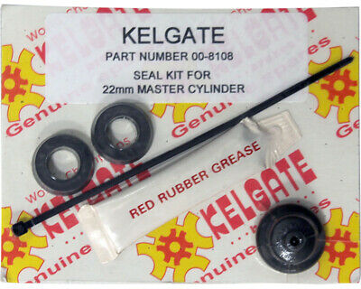 Go Kart Kelgate 22mm Master Cylinder Seal Kit Karting Race Racing