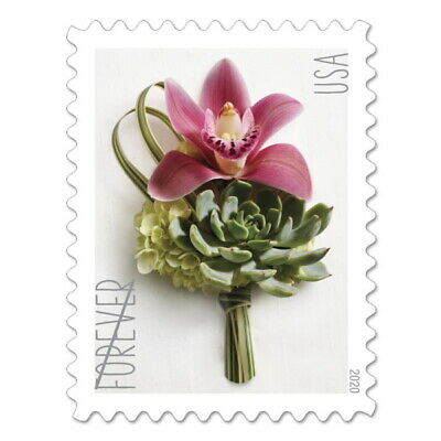 USPS New Contemporary Boutonniere Pane of 20
