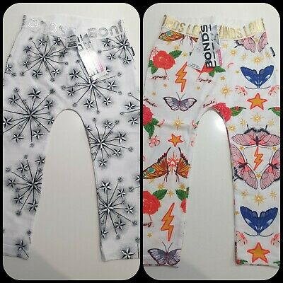 New with tags BONDS leggings X 2, Size 2