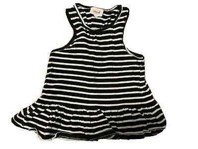 Seed Baby Toddler Girl Top Tank Size 2-3