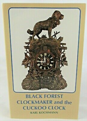 Black Forest Clockmaker and the Cuckoo Clock Identification Guide Book NICE!