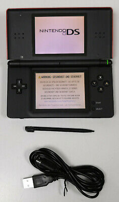 Nintendo DS Lite in crimson/red #2