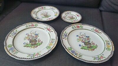 Spode Copeland Old Bow Plates