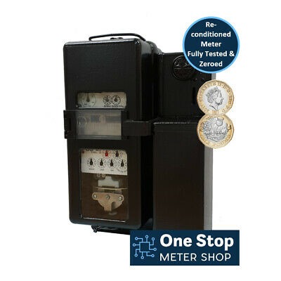 Ferranti Electric Coin Meter - Accepts £1 Coins - 60 Amp - Fully Tested