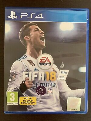 Ps4 / Playstation 4: Fifa 18 **Excellent Condition**