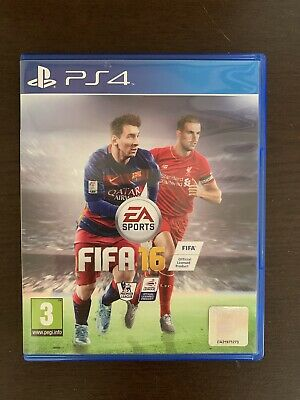 Ps4 / Playstation 4: Fifa 16 **Excellent Condition**