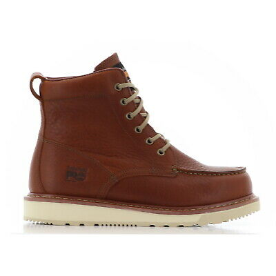 Timberland PRO 53009 Timberland PRO Tan Wedge Sole Moc Toe Non Slip EH ASTM Boot