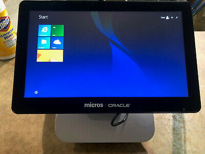 Oracle Micros Workstation 6 Terminal with Stand  - excellent condition.  Grade A