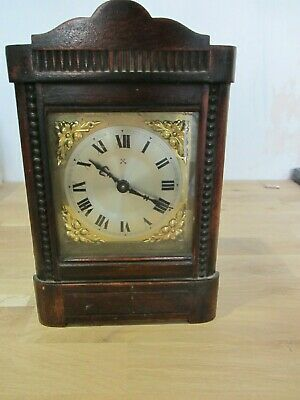 Antique H.A.C. Mantle Clock Made In Germany