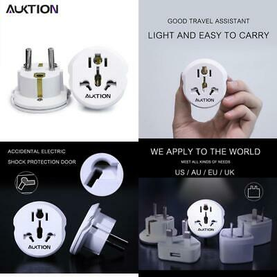 Auktion 16A Universal Eu(Europe) Converter Adapter 250V Ac Travel Charger Wall P