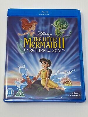 THE LITTLE MERMAID 2 - Blu ray - NEW BUT IS UNSEALED - UNPLAYED - DISNEY