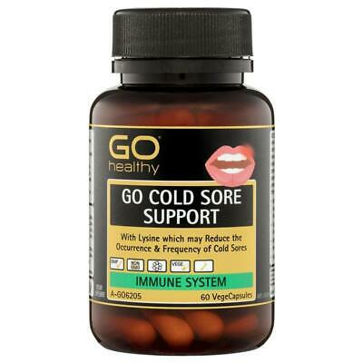 GO Healthy Cold Sore Support 60 Vege Capsules