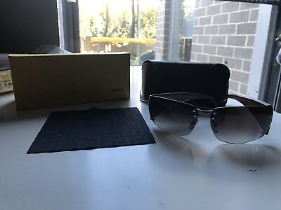 Fendi Brand 100% Authentic Sunglasses All Complete Hardly Used Superb Condition