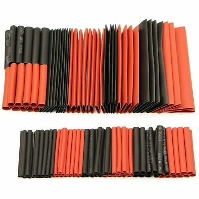 127Pcs  Electrical Cable Heat Shrink Tube Tubing Wrap Sleeve Assorted 7 Sizes
