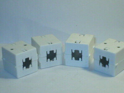 4 pieces clip on ferrites suitable for <10A mains cables