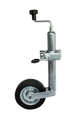 UNITRAILER Jockey Wheel LB 48 and cast-iron clamp bracket 48